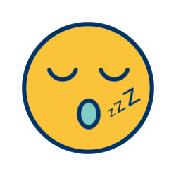 Insomnia sleep icon